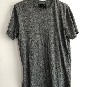 PACSUN scallop fit long tee
